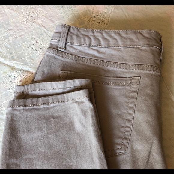 Charter Club Denim - Charter Club Jeans, tan, 12, Bristol Skinny Ankle